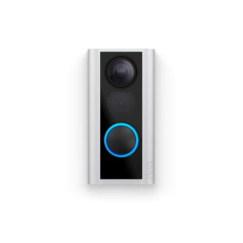 Ring Door View Cam - Satin Nickel - Silver
