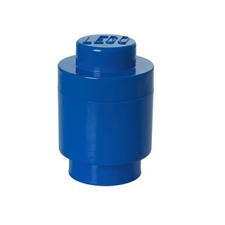 Link to LEGO Round Storage Brick 1, Bright Blue - Multi Similar Items in Building Blocks & Sets