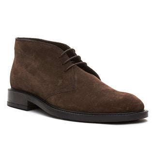 Tod's Men's Suede Chukka Desert Boots Shoes Brown (2 options available)