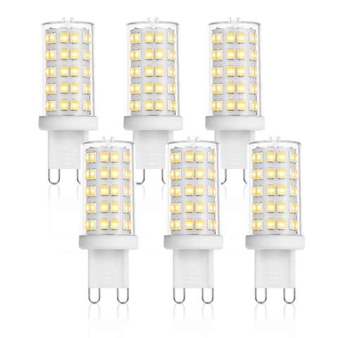 Light Society Set of 6 - Vita G9 40 Watt Equivalent 4 Watt LED Bulb - Clear