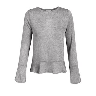 NE PEOPLE Womens Causal Flare Long Sleeve Soft Sweater Top [NEWT350]