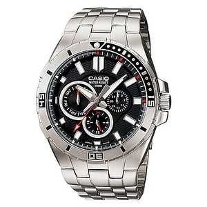 Casio Mens Stainless Steel Dive Watch