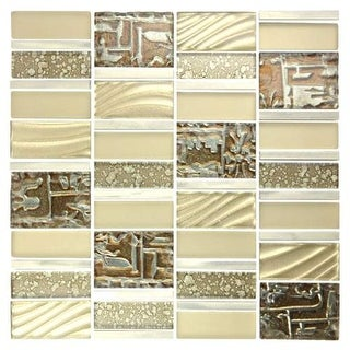 Miseno MT-EMPERORDECOSH Emperor - Glass Visual - Wall Tile (Sold by Sheet)