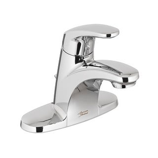 American Standard 7075.000  Colony Pro Centerset Single Handle Bathroom Faucet with Metal Pop-Up Drain Assembly