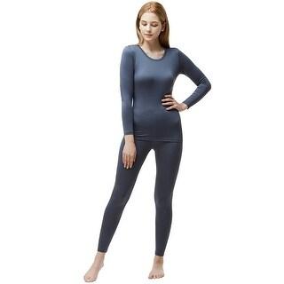 Tesla Blank WHS200 Women's Microfiber Fleece Lined Top and Bottom Set
