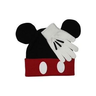 Disney's Beanie & Gloves set Classic Mickey Mouse Disneyland