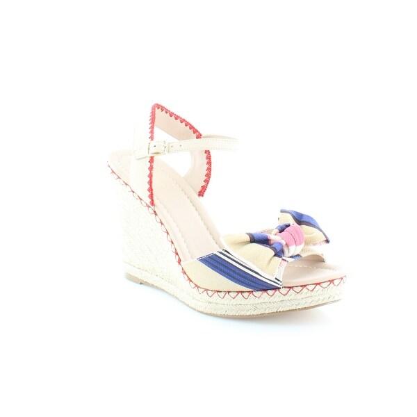Kate Spade Jane Women's Sandals & Flip Flops Multi Color Berber Stripe printed - 5