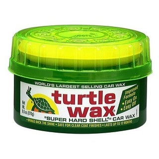 Turtle Wax T223R Super Hard Shell Paste Wax, 9.5 Oz