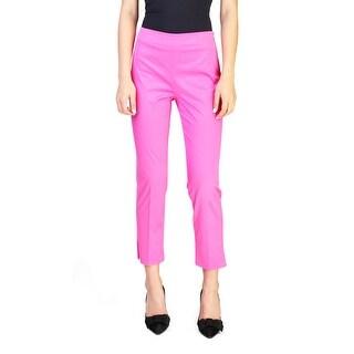 Prada Women's Cotton Legging Pants Pink