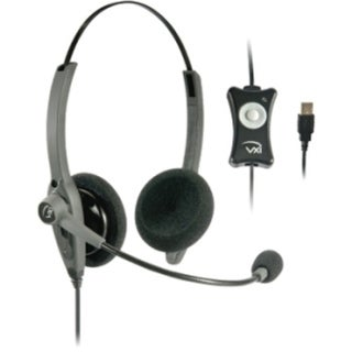 VXi TalkPro USB2 Headset - Stereo - USB - Wired - Over-the-head - (Refurbished)