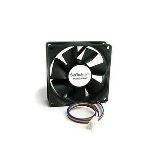 Startech.Com 80X25mm Computer Case Fan With Pwm Connector Cooling Fan8025pwm (Black)