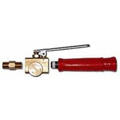 Red Dragon V-880PH-1 Squeeze Valve W/Pilot & Handle Brass, 350 lbs