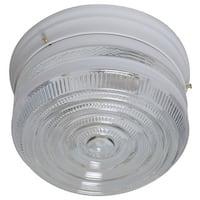 Boston Harbor F14WH02-8002CL3L Light Ceiling Fixture, White