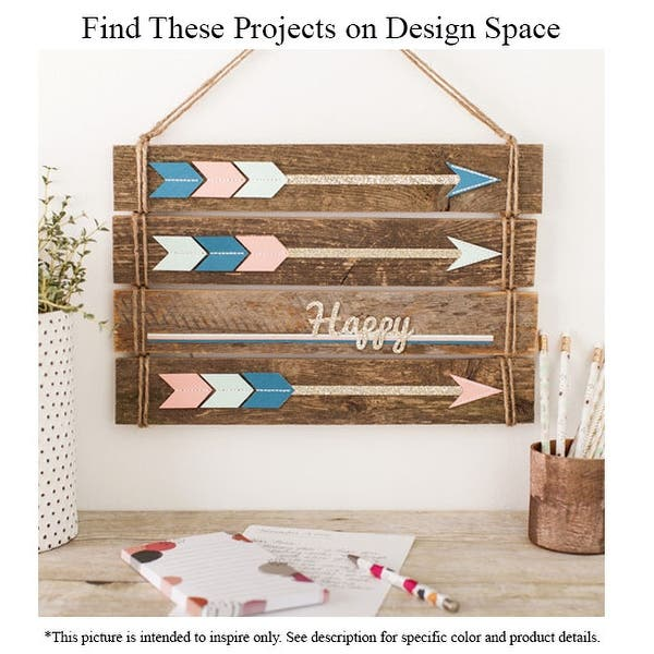 Cricut Everyday Vinyl Wood Pallet With Weeding Tool Svg Files And Digital Project Guide Overstock 27991863