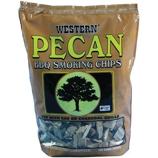 Western 78076 Pecan Wood Smoking Chips, 180 cu. in.
