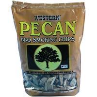 Western 78076 Pecan Wood Smoking Chips, 180 cu. in.