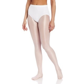 Capezio Womens Team Basic Brief, White, Xsmall - xlarge