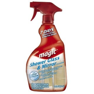 Magic 3073 Shower Glass & Mirror Cleaner, 28 Oz