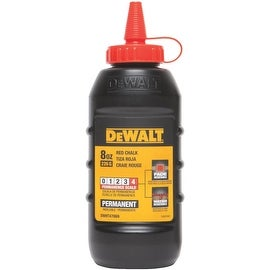 DeWalt Red Permanent Chalk