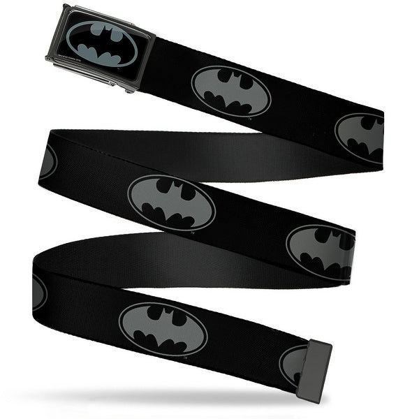 Bat Signal 3 Fcg Black Gray Black Chrome Bat Signal 3 Black Gray Black Web Belt
