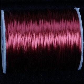 Rusty Red Satin Cording 2.5 mm x 144 Yards