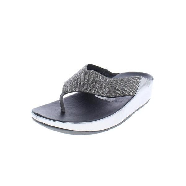 Fitflop Womens Crystall Flip-Flops Rhinestone Thong