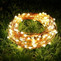 AGPtek 8 PCS Copper String LED Starry String Light,20LED 2M/6.6FT for Wedding Parties