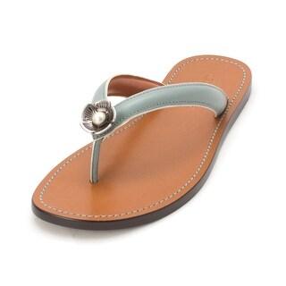 7c27558a5bd0 Buy Coach Women s Sandals Online at Overstock