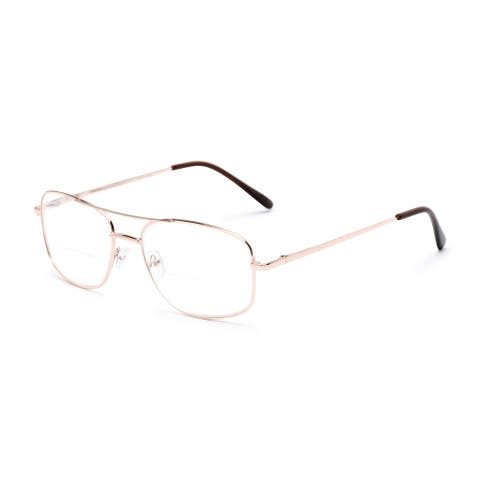 Readers.com The Stenson Bifocal Aviator Reading Glasses