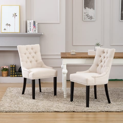 Grandview Tufted Dining Chair (Set of 2)