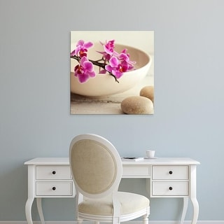 Easy Art Prints PhotoINC Studio's 'Zen Pebble' Premium Canvas Art