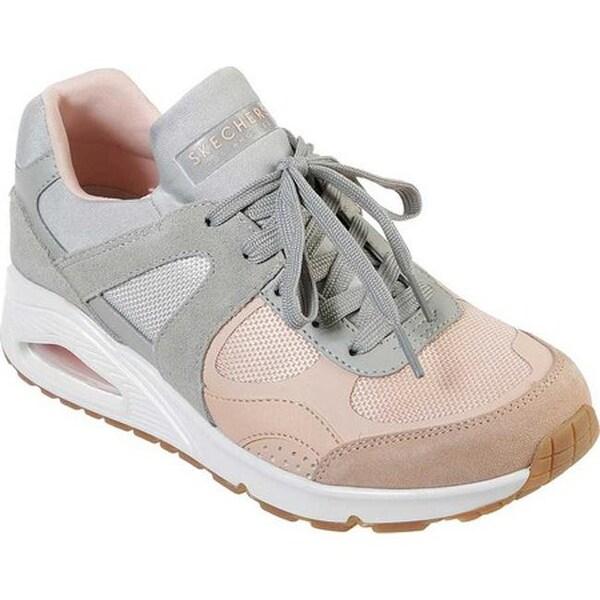 Shop Skechers Women's Uno Super Fresh Sneaker GrayPink