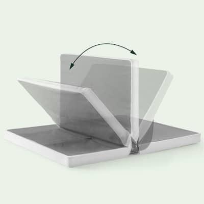 Priage by Zinus 4 inch Low Profile BiFold Mattress Foundation