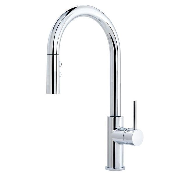Miseno MK191 Gemma Pull-Down Multi-Flow Spray Kitchen Faucet - Includes Lifetime Warranty and Decora