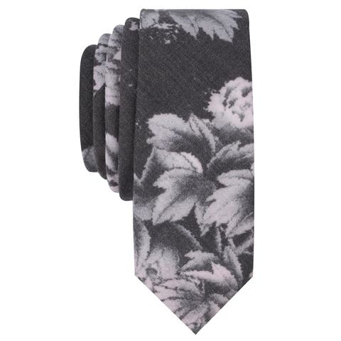 Penguin Mens Dawne Floral Self-Tied Necktie - One Size