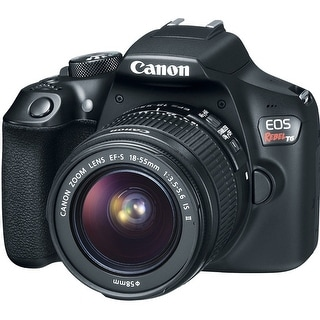 Canon 1159C008 EOS Rebel T6 Digital SLR Camera Kit with EF-S (Refurbished)