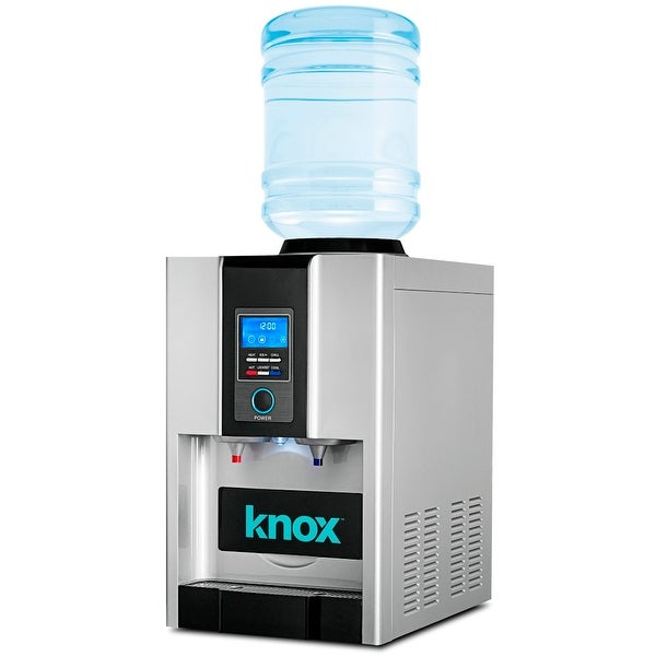 Knox Gear Tabletop Hot and Cold Water Dispenser Ice Maker