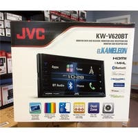 JVC KWV620BT 6.8 in. Android Multi-Media Car Stereo Receiver - Black