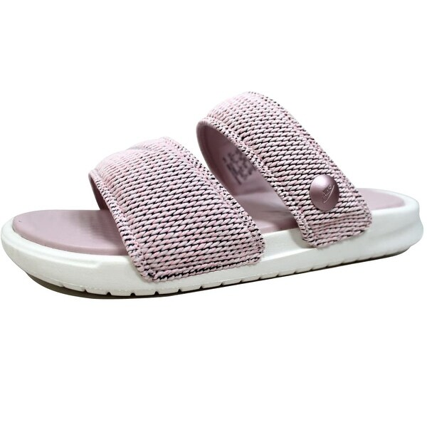 394853f6407b Shop Nike Men s Benassi Duo Ultra SLD Pigalle Carnation Barely Rose ...