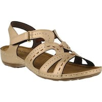Flexus by Spring Step Women's Sambai Strappy Sandal Gold