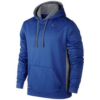 Nike Blue Mens Size 2XL Therma-Fit Performance Hooded Sweater