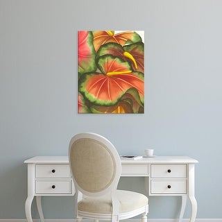 Easy Art Prints Jason Higby's 'Anthuria II' Premium Canvas Art