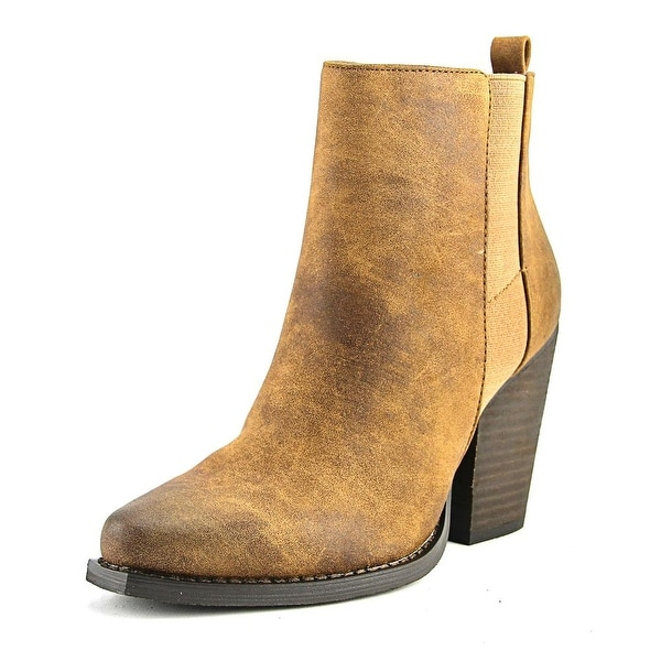 Very Volatile Pamina Women Round Toe Synthetic Bootie
