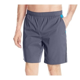 Speedo NEW Gray Mens Size XL Sideline Tech Volley Hydroliner Shorts