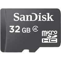 """SanDisk SDSDQ032GA46AM microSDHC 32GB Memory Card W/Adapter"""
