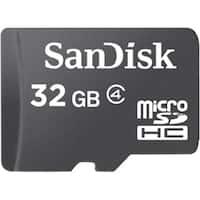 """SanDisk SDSDQ032GA46AM microSDHC 32GB Memory Card W/Adapter"""