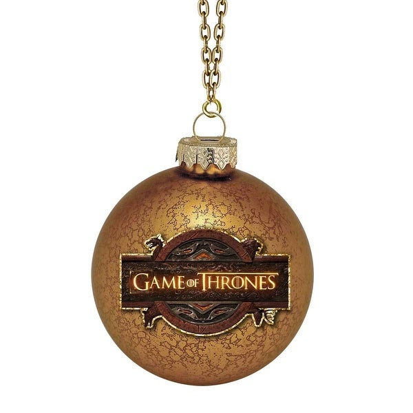 Shop Game Of Thrones Handcrafted Glass Holiday Ornament
