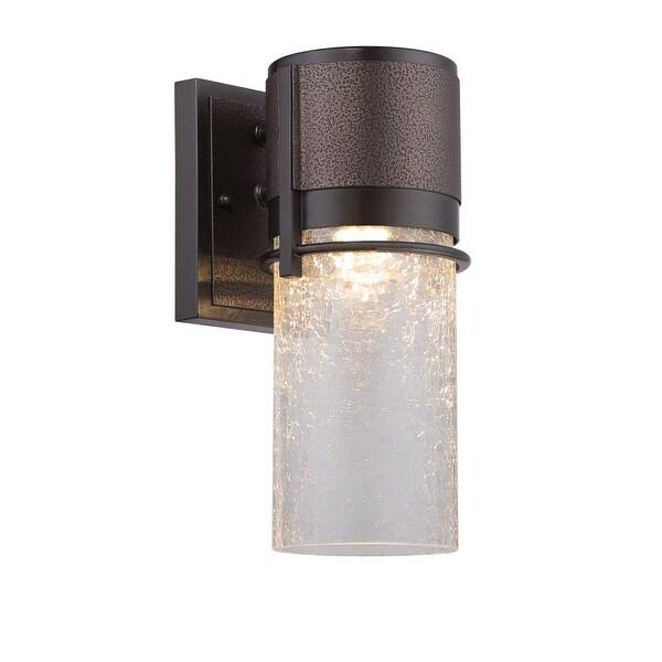 Designers Fountain LED32921 Baylor 1-Light ADA Compliant Wall Sconce - burnished and flemish bronze - n/a