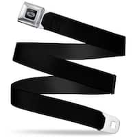 Ford Emblem Black Seatbelt Belt Fashion Belt