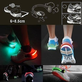 2 Pack -Sports Flashing Safety Shoe Clips